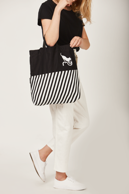 CATWALK TOTE BAG BLACK