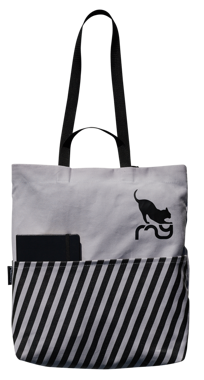 CATWALK TOTE BAG GREY
