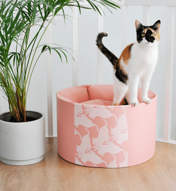 OTI rose Cat Bed